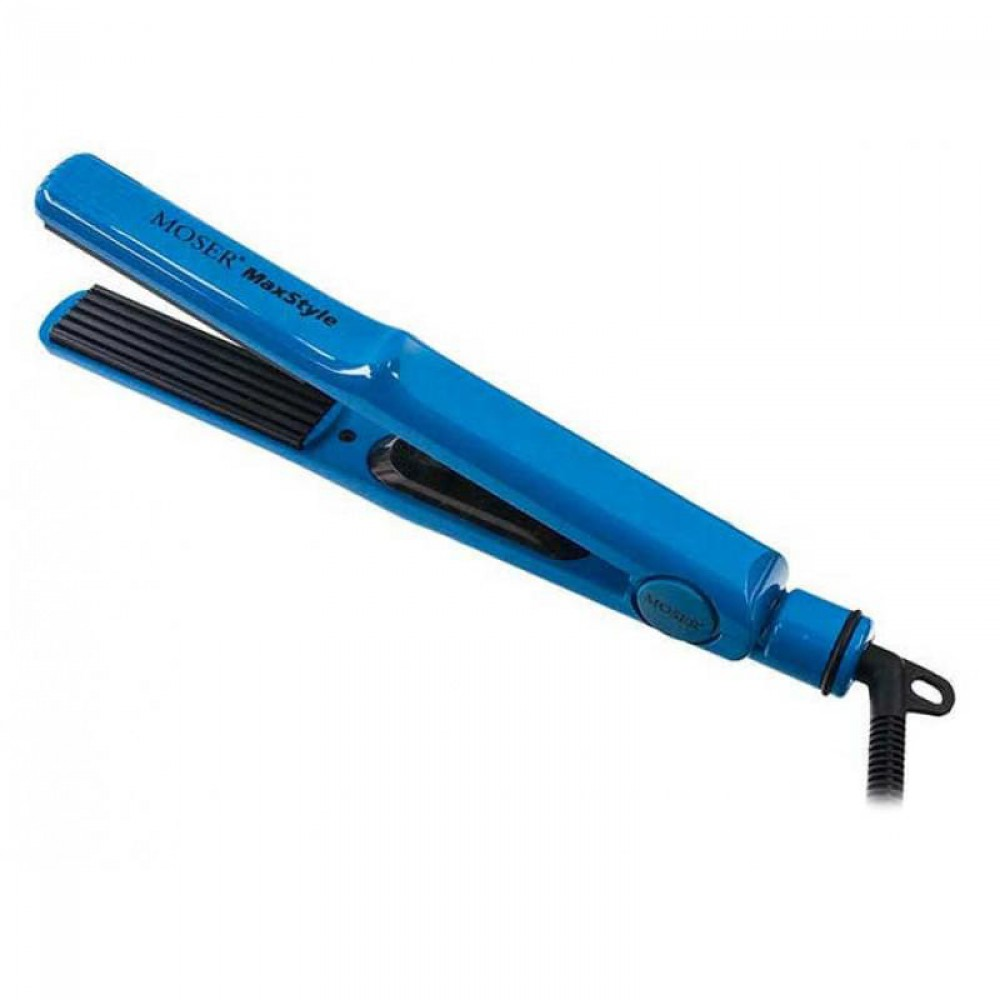 Плойка-гофре профессиональная синяя Max Style (4415-0051) Moser