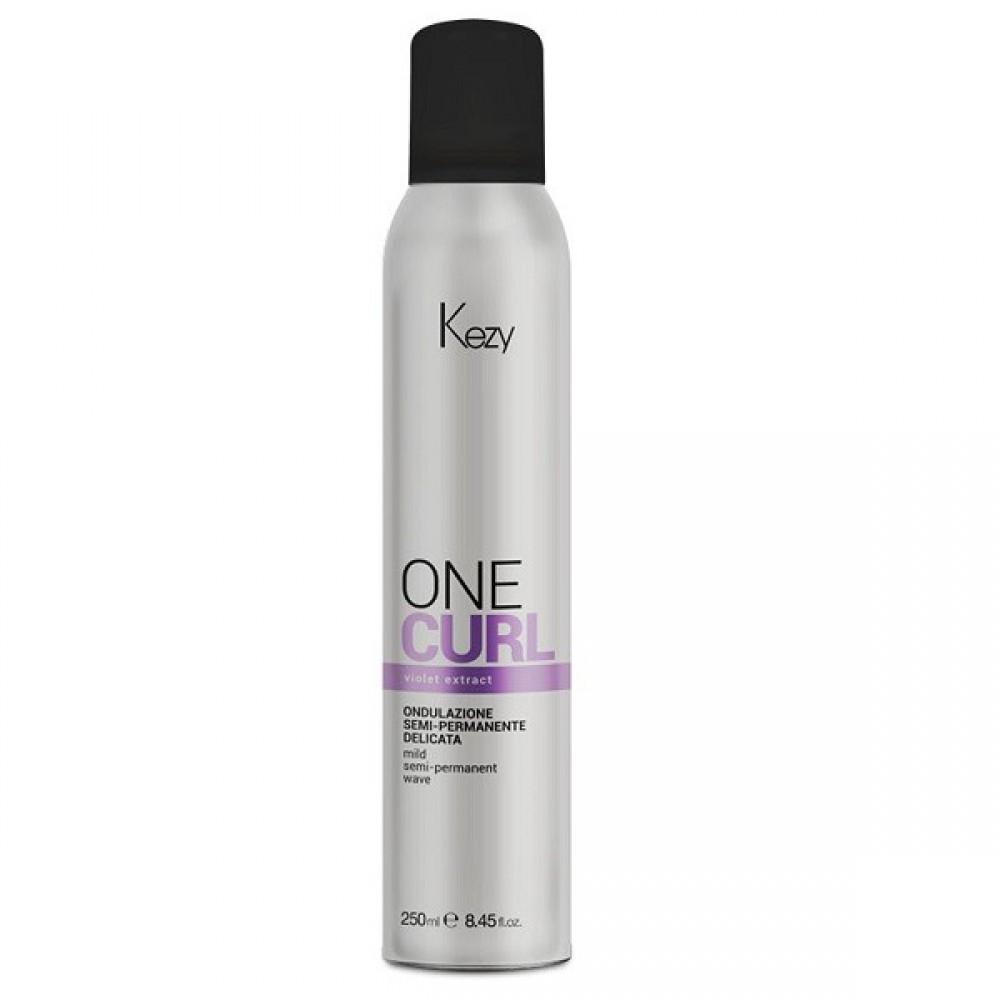 Завивка однофазная полустойкая One Curl Mild Semi Permanent Wave Kezy