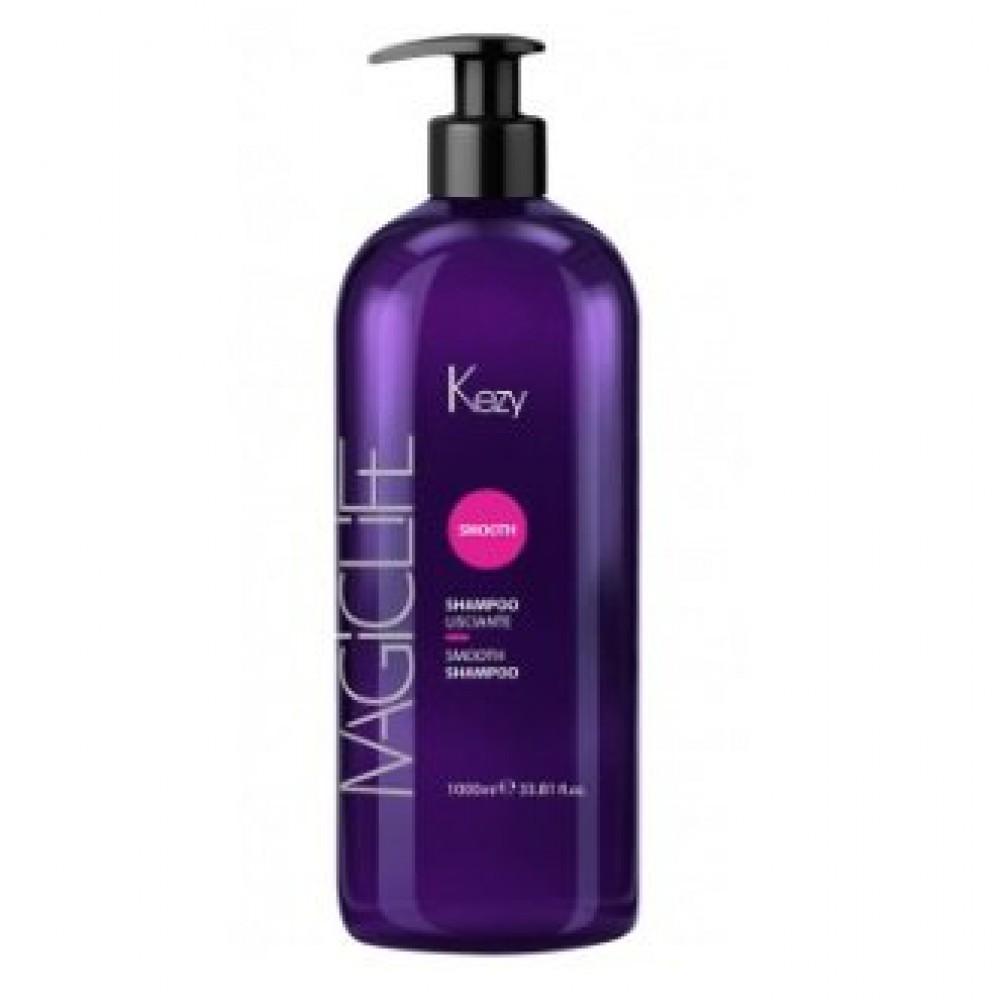Шампунь разглаживающий Magic Life Smooth Shampoo Kezy