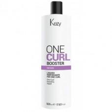Специальный состав для усиления действия завивки One Curl Booster Kezy