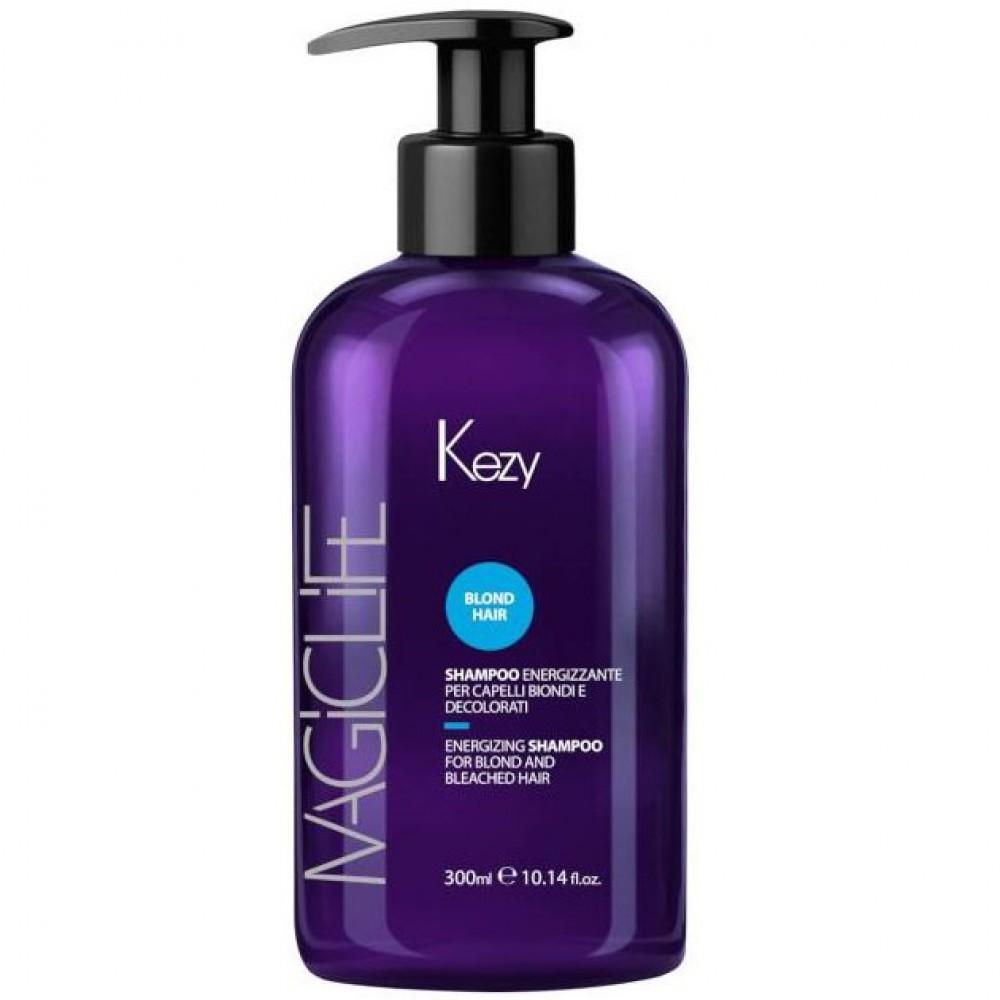 Шампунь укрепляющий для светлых волос Magic Life Blond Hair Energizing Shampoo Kezy