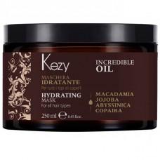Маска увлажняющая для всех типов волос Incredible Oil Hydrating Mask Kezy