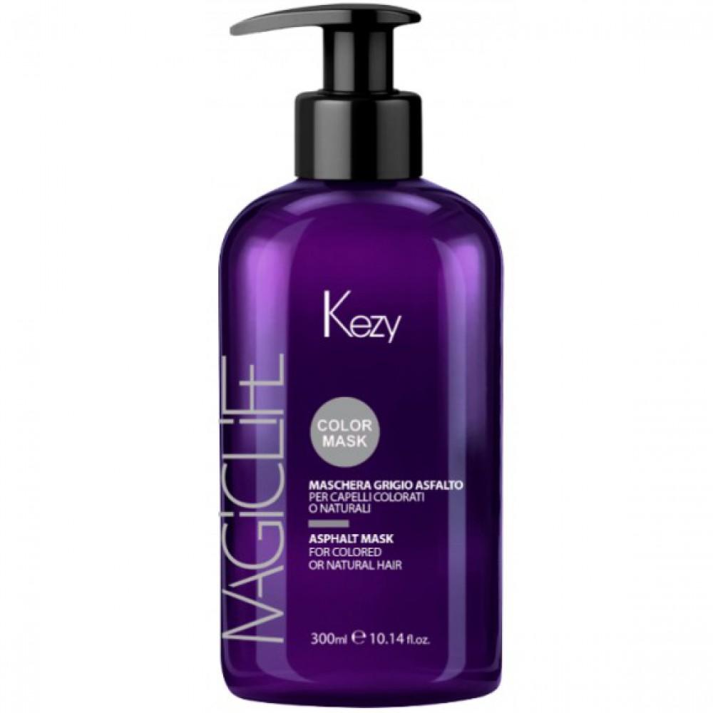 Маска тонирующая для окрашенных или натуральных волос Magic Life Rose Powder Mask Kezy