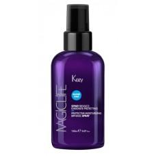 Спрей двухфазный для увлажнения и защиты волос Magic Life Protective Moisturizing Spray Kezy