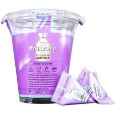 Сыворотка для кожи лица с гиалуроновой кислотой 7 Days Hyaluronic Ampoule May Island