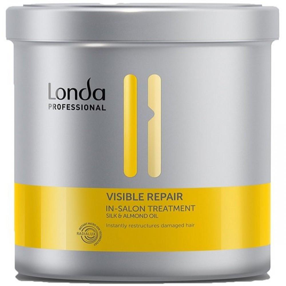 Средство для восстановления поврежденных волос с пантенолом Visible Repair Treatment Londa
