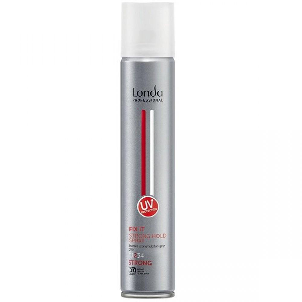 Лак для волос сильной фиксации Strong Hold Spray Fix It Londa