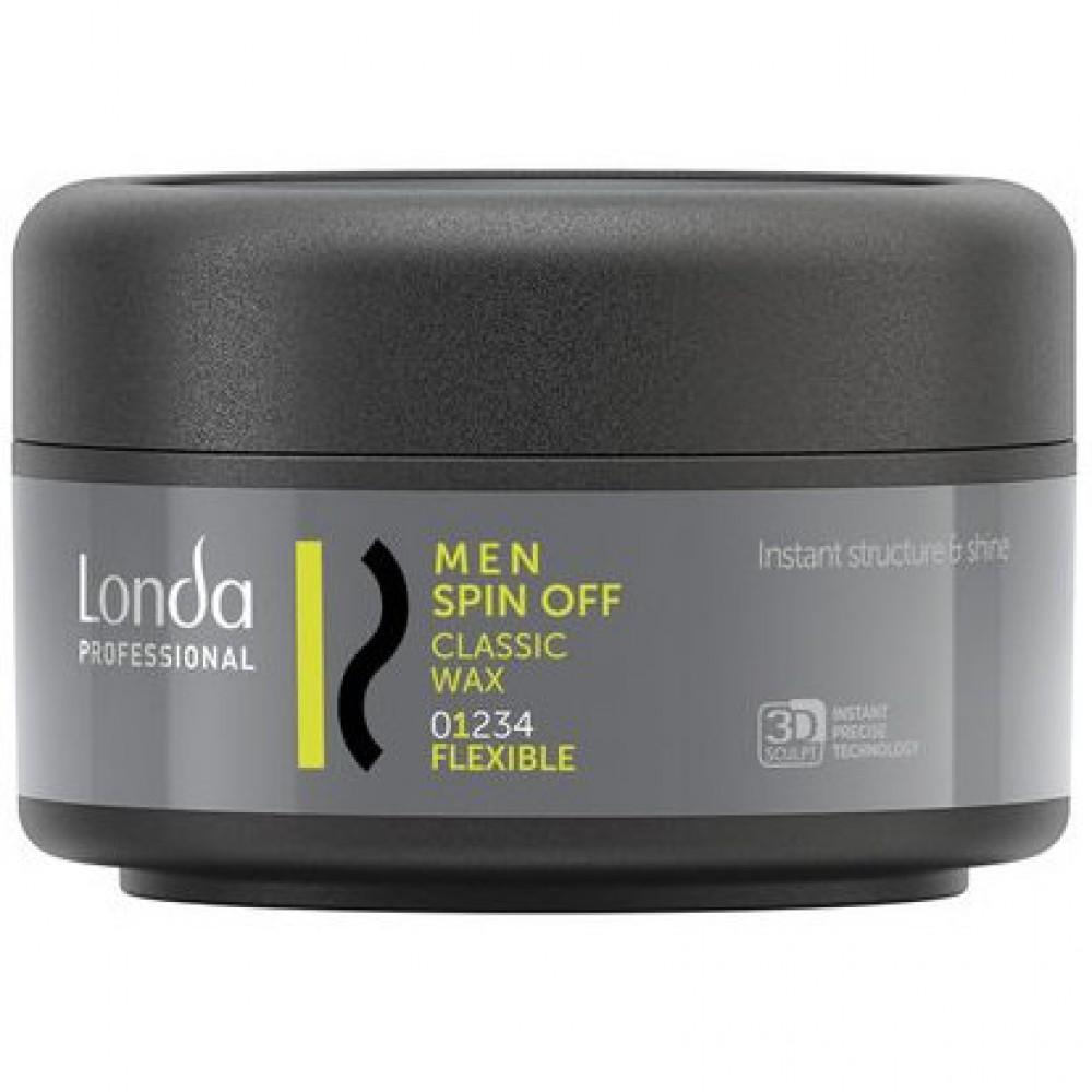 Классический воск для волос нормальной фиксации Classic Wax Spin Off Londa