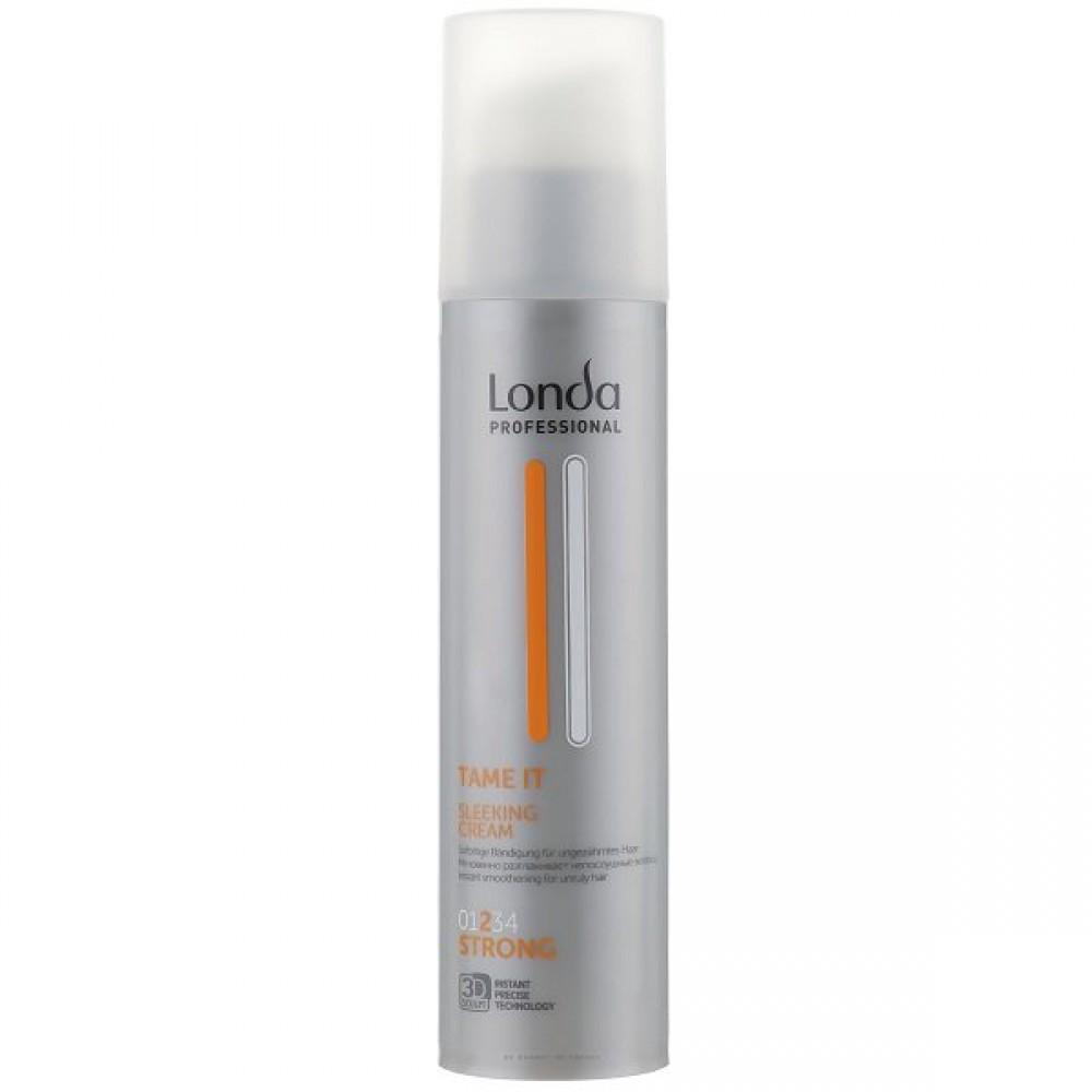 Разглаживающий крем для волос сильной фиксации Sleek Cream Tame In Londa