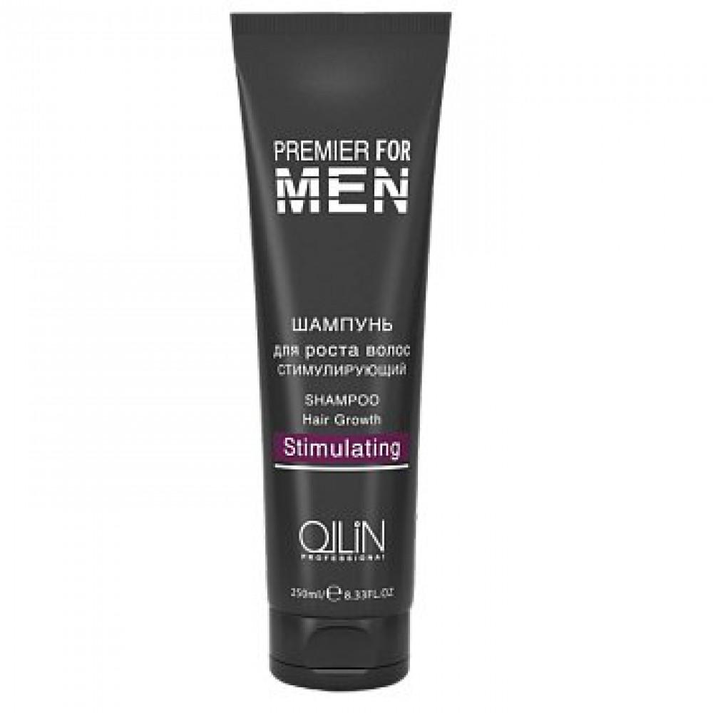 Шампунь для роста волос стимулирующий Premier For Men Ollin