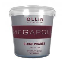 Осветляющий порошок с аргановым маслом без аммиака Megapolis Blond Powder Ollin