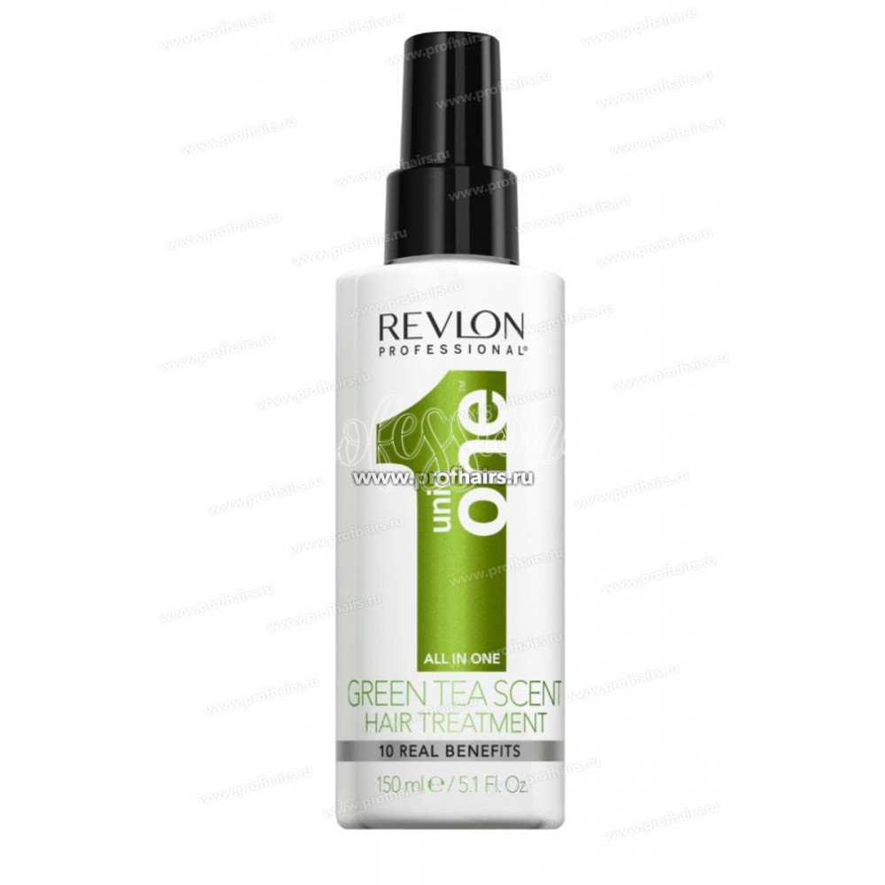 Маска-спрей с ароматом зеленого чая Uniq One Green Tea Scent Hair Treatment Revlon
