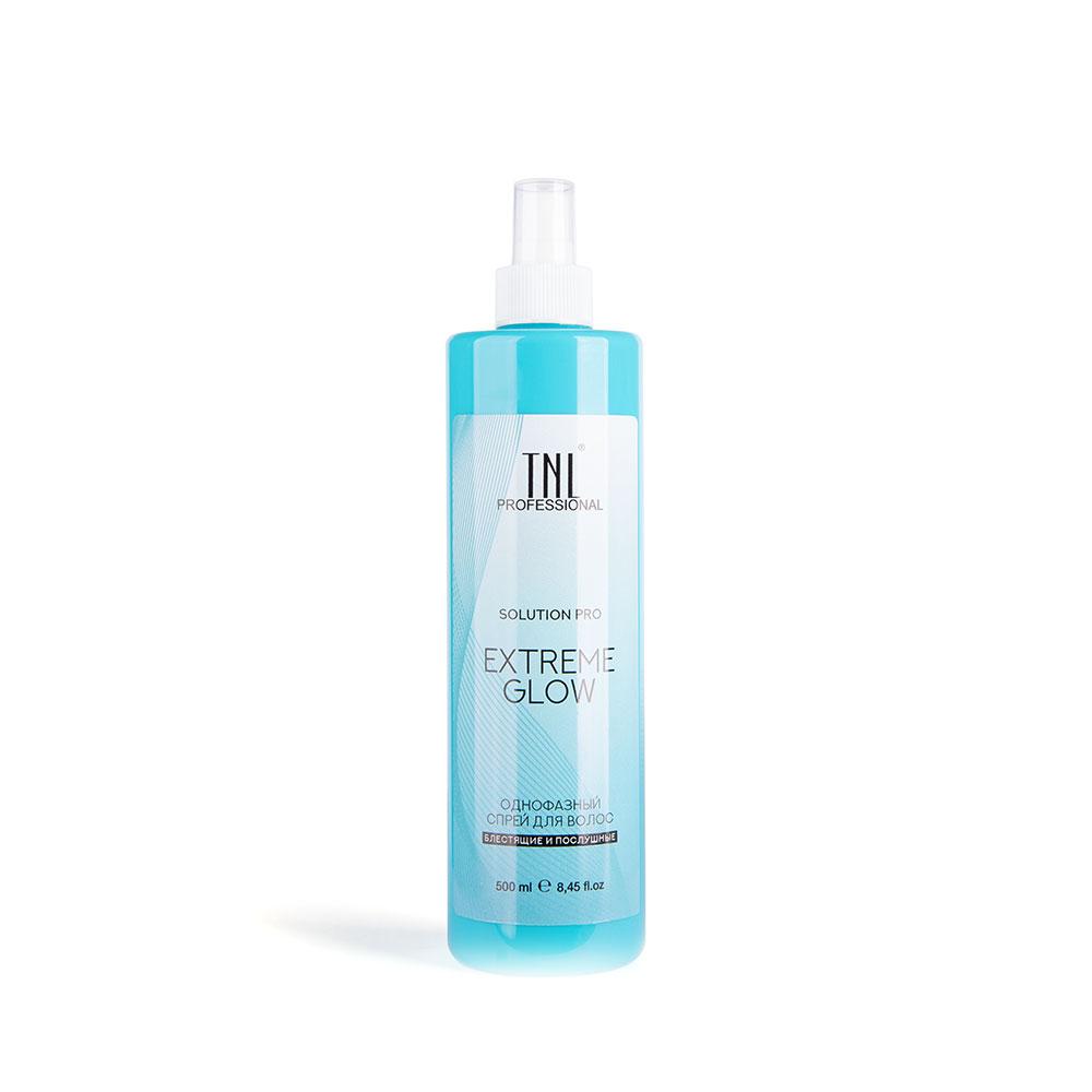 Однофазный спрей для волос Solution Pro Extreme Glow для легкого расчесывания и блеска TNL