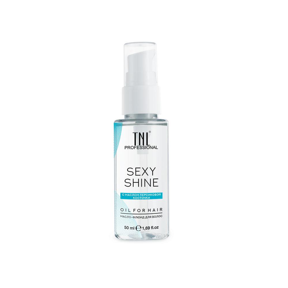 Масло-флюид для волос Sexy Shine с маслом персиковой косточки TNL