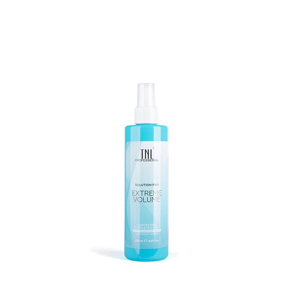 Однофазный спрей для волос Solution Pro Extreme Volume для объема с протеинами пшеницы TNL