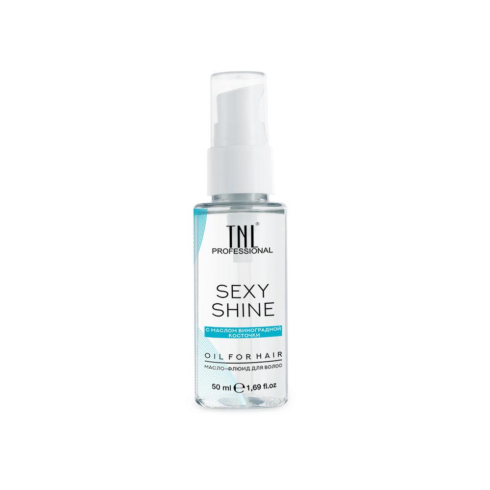 Масло-флюид для волос Sexy Shine с маслом виноградной косточки TNL
