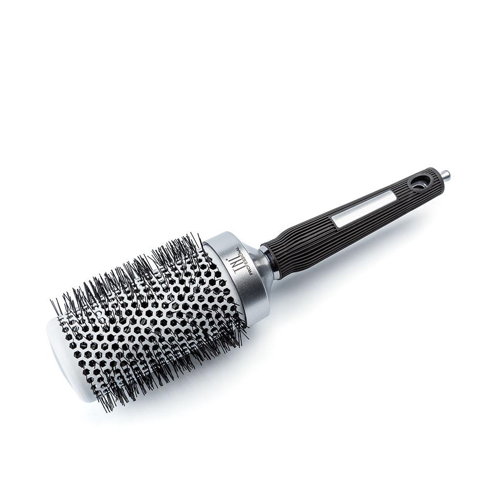 Термобрашинг для укладки волос алюминиевое покрытие, нейлоновые штифты, металлик TNL