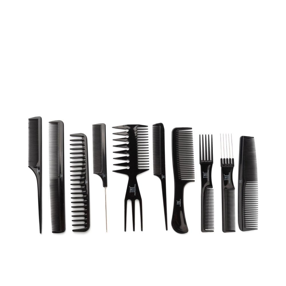 Набор расчесок парикмахерских, 10шт TNL