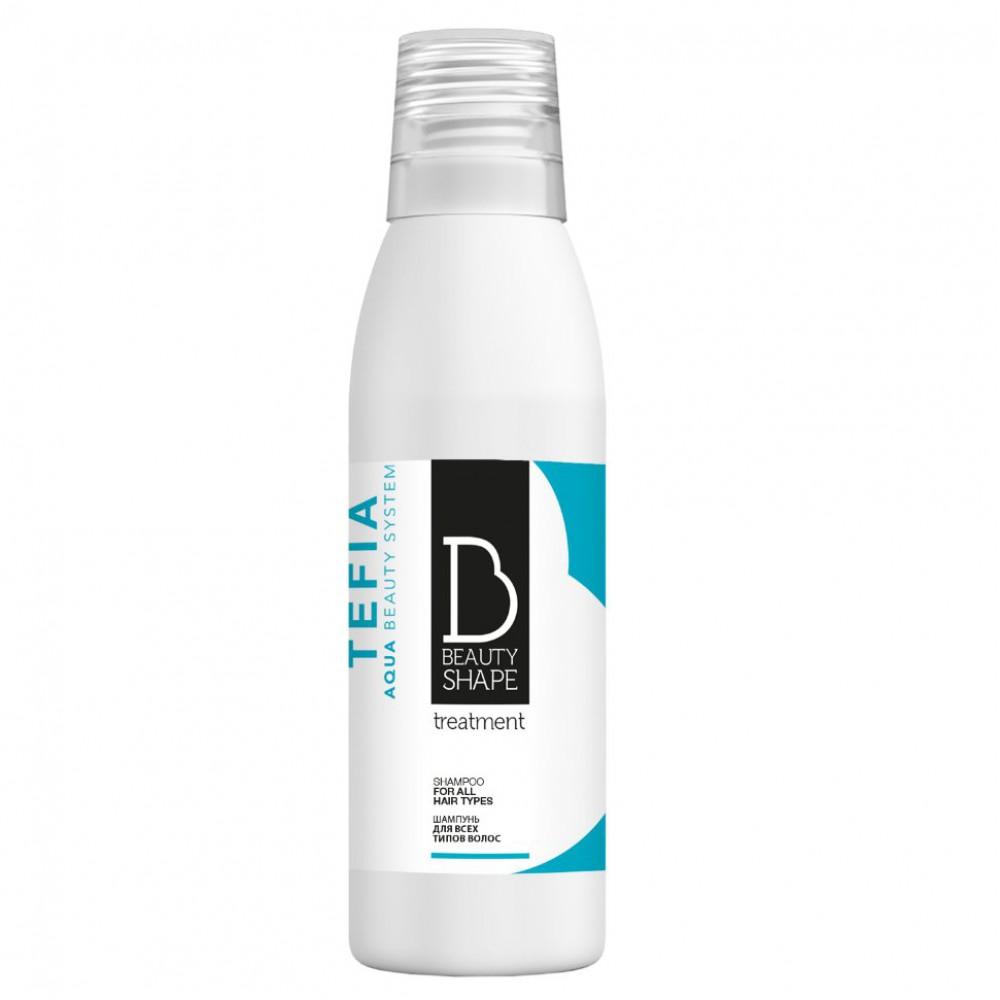 Шампунь для всех типов волос Beauty Shape Tefia