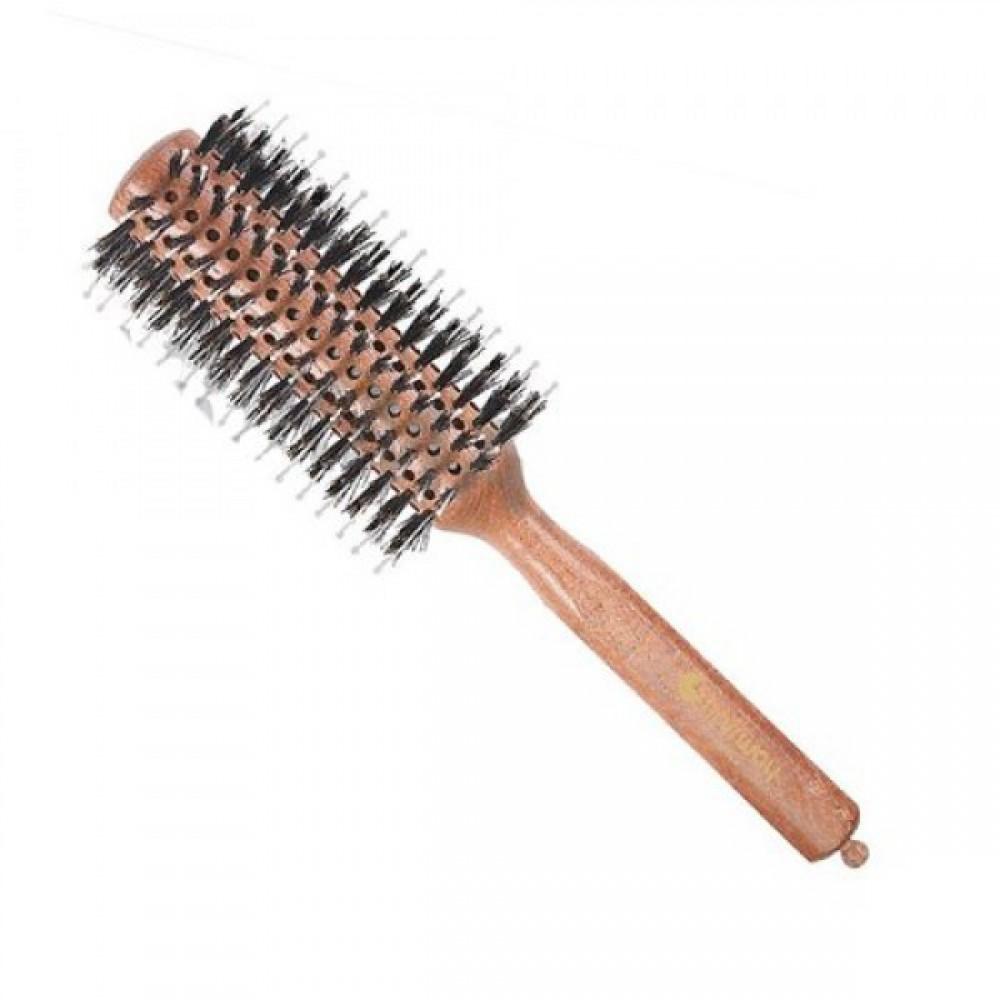 Брашинг Style 28мм на деревянной основе с натуральной щетиной 06029 Hairway