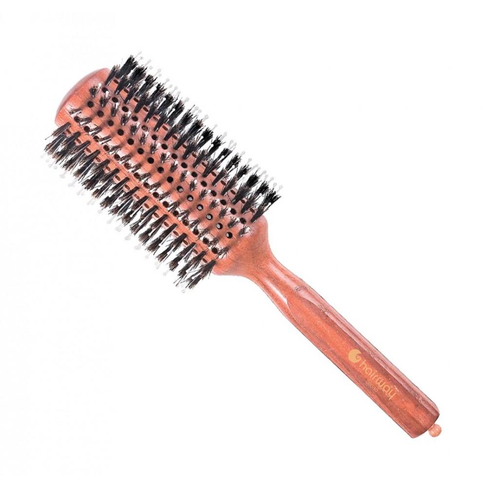 Брашинг Style на деревянной основе с натуральной щетиной Ø38мм 06030 Hairway