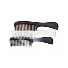 Расческа пластиковая 205мм серо-черная 1807/4 Titania