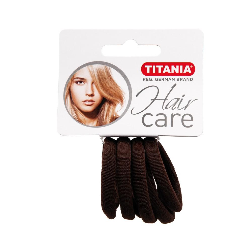 Резинки 4см 6шт/уп коричневые 7869 Titania