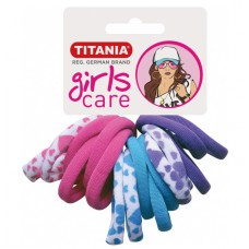 Резинки 4 см 16 шт/уп цветные 7826 GIRL 29061 Titania