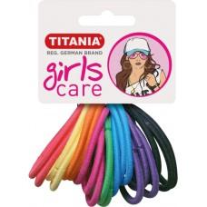 Резинки 4 см 20 шт/уп цветные 7890 GIRL 29062 Titania