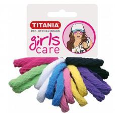 Резинки 4 см 16 шт/уп цветные 7827 GIRL 29063 Titania