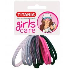 Резинки 4 см 10 шт/уп цветные 7820 GIRL 29066 Titania