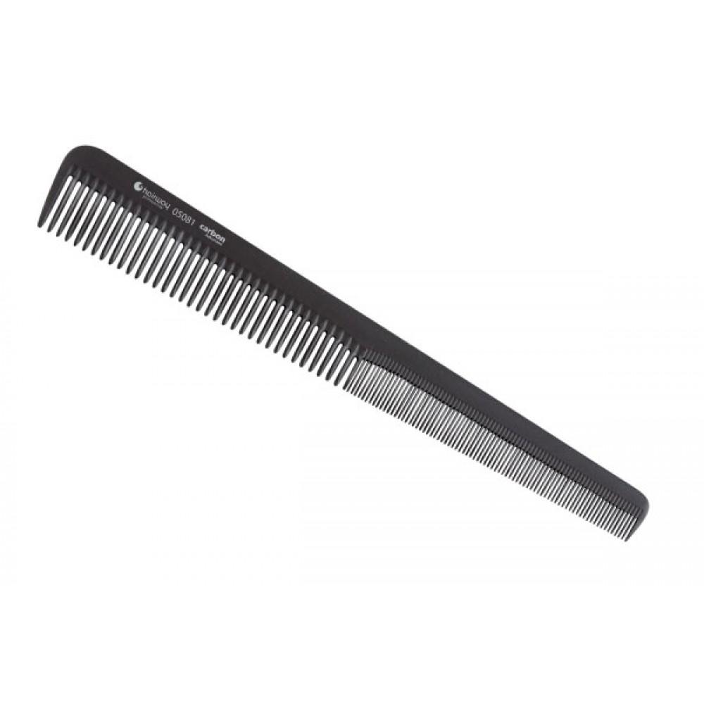 Расческа Carbon Advanced комбинированная конусная 175 мм 05081 Hairway