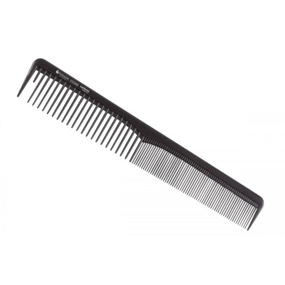 Расческа Carbon Advanced комбинированная 180 мм 05088 Hairway