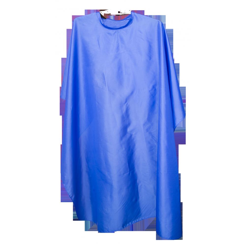 Пеньюар синий 140x120см на липучке 37336 Hairway