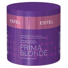 Серебристая маска для холодных оттенков блонд Otium Prima Blonde Estel