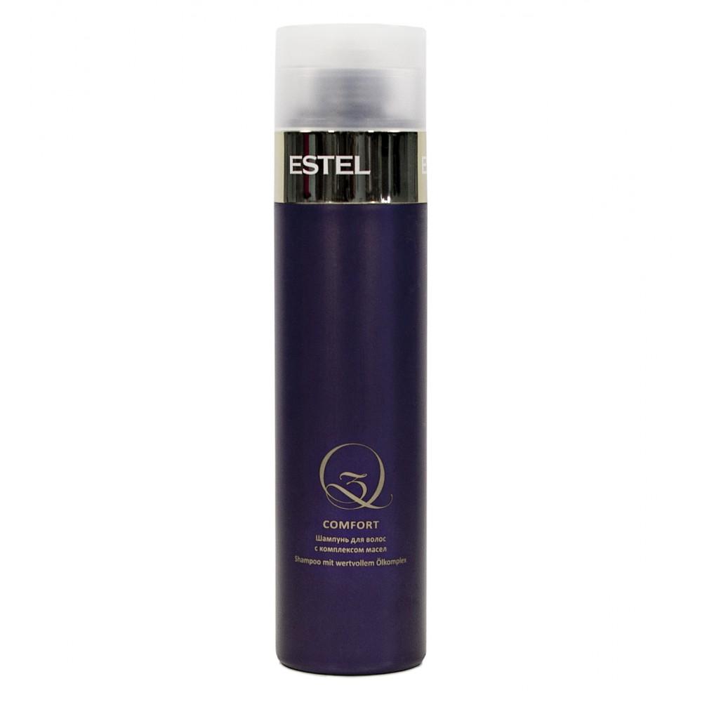 Шампунь для волос с комплексом масел Q3 Comfort Estel