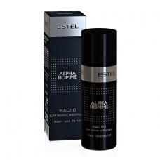 Масло для волос и бороды Alpha Homme Pro Estel