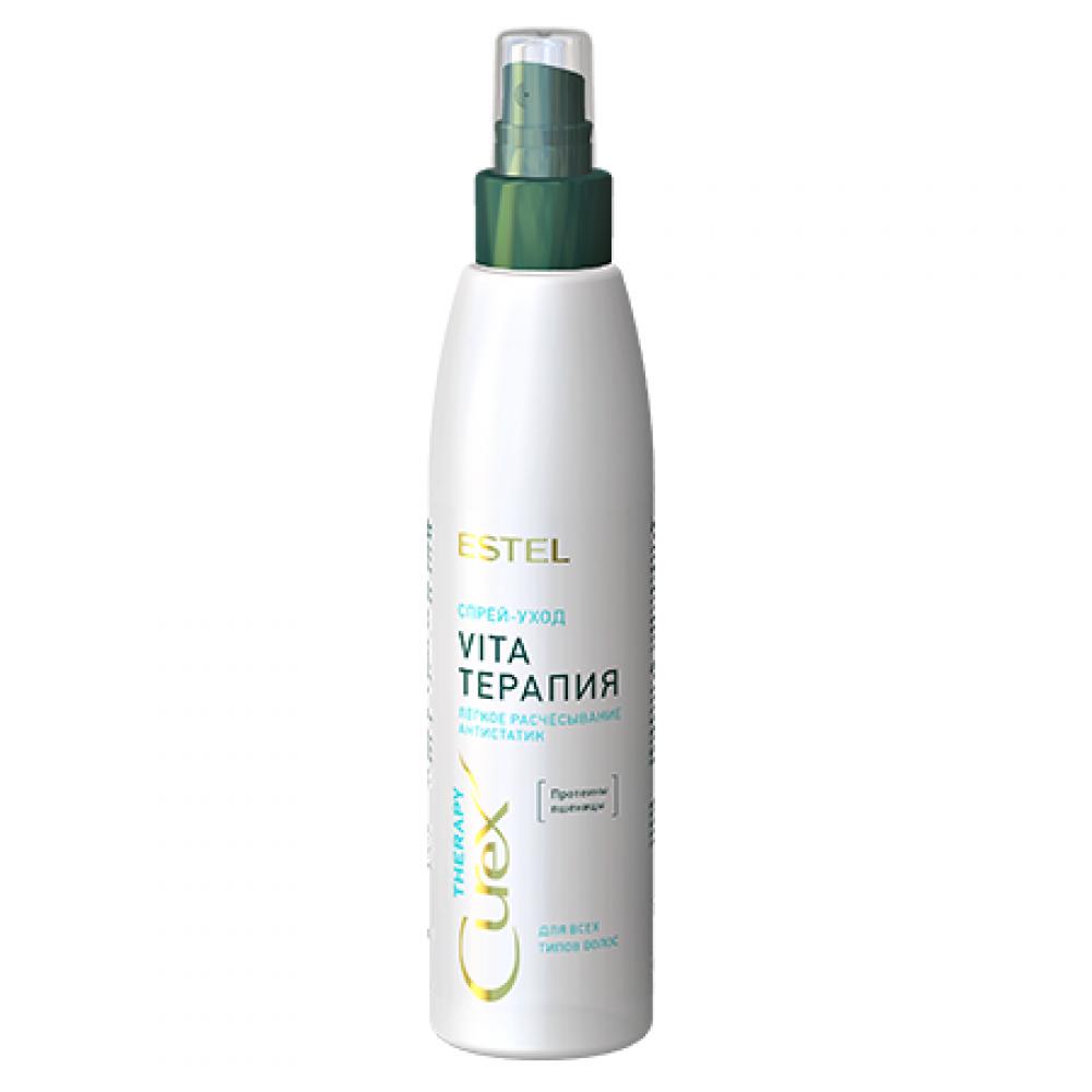 Спрей-уход Облегчение расчесывания для всех типов волос Curex Estel