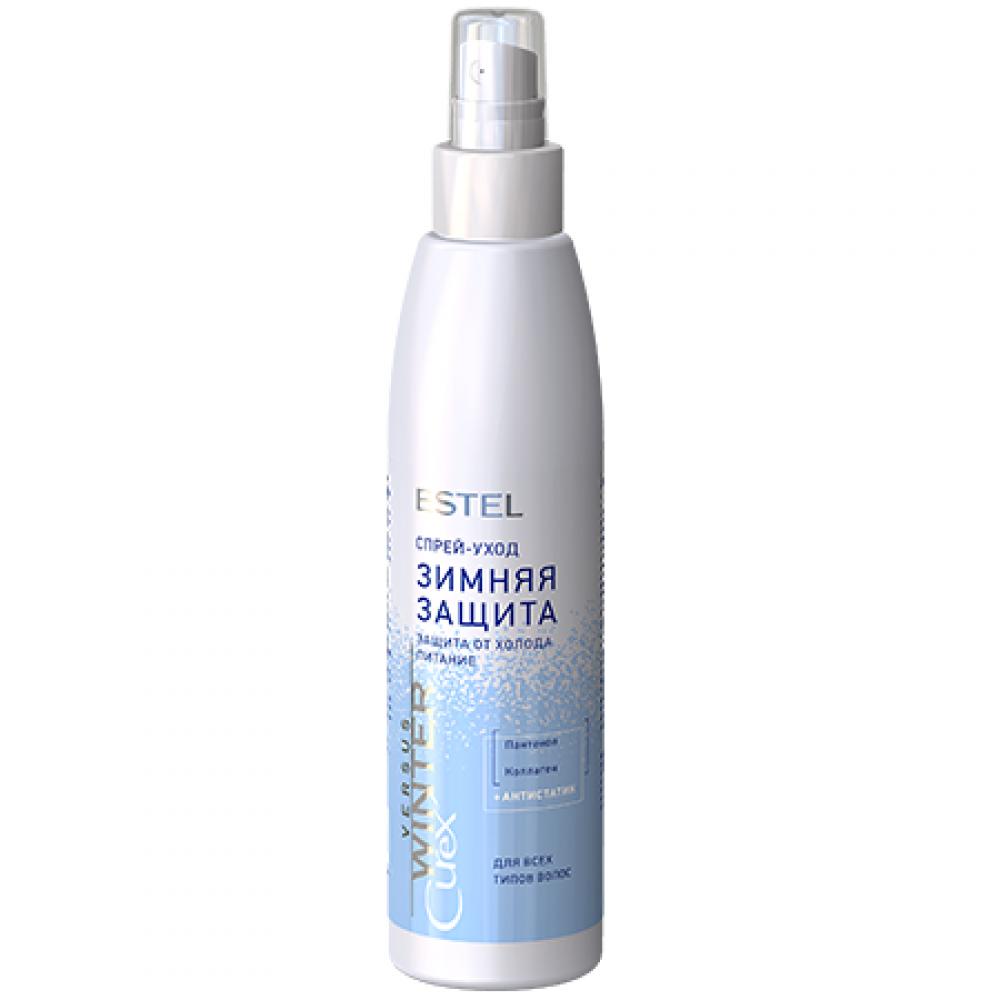 Спрей-уход для волос защита и питание Curex Versus Winter Estel