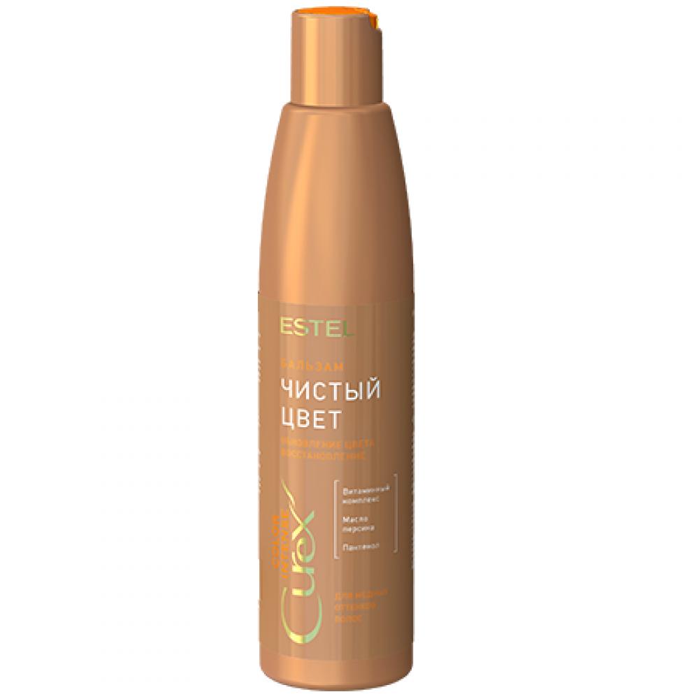"""Бальзам """"Чистый цвет"""" для медных оттенков волос Curex Estel"""