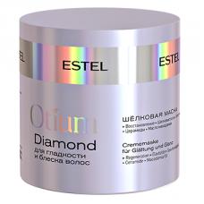 Шелковая маска для гладкости и блеска волос Otium Diamond Estel