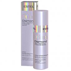 Крем-термозащита для гладкости и блеска волос Otium Diamond Estel