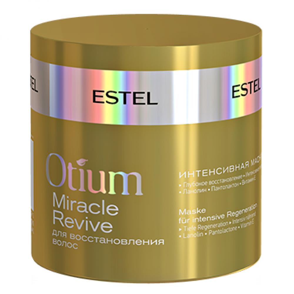 Интенсивная маска для восстановления волос Otium Miracle Revive Estel