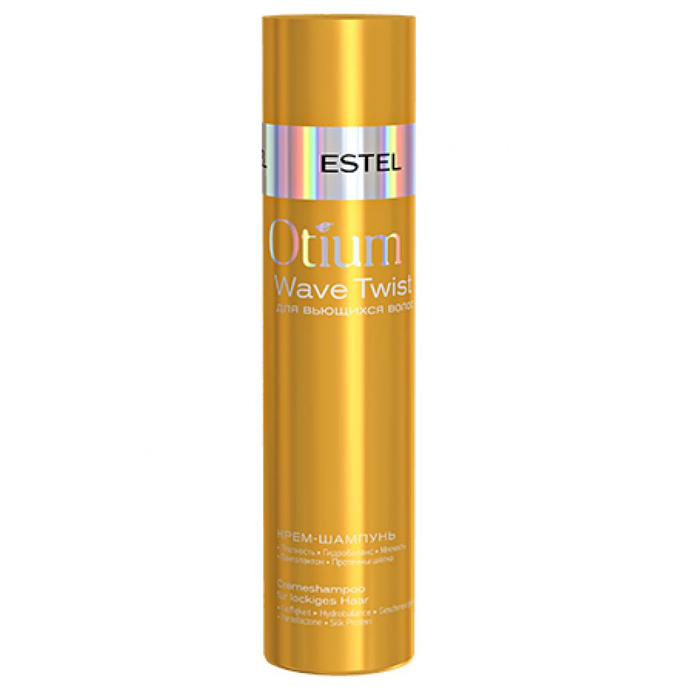 Крем-шампунь для вьющихся волос Otium Wave Twist Estel