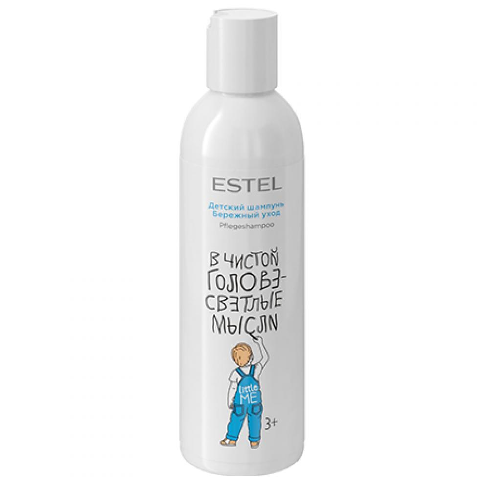 Детский шампунь для волос Бережный уход Little Me Estel