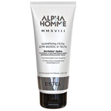 Шампунь-гель для волос и тела Alpha Homme MMXVIII Estel