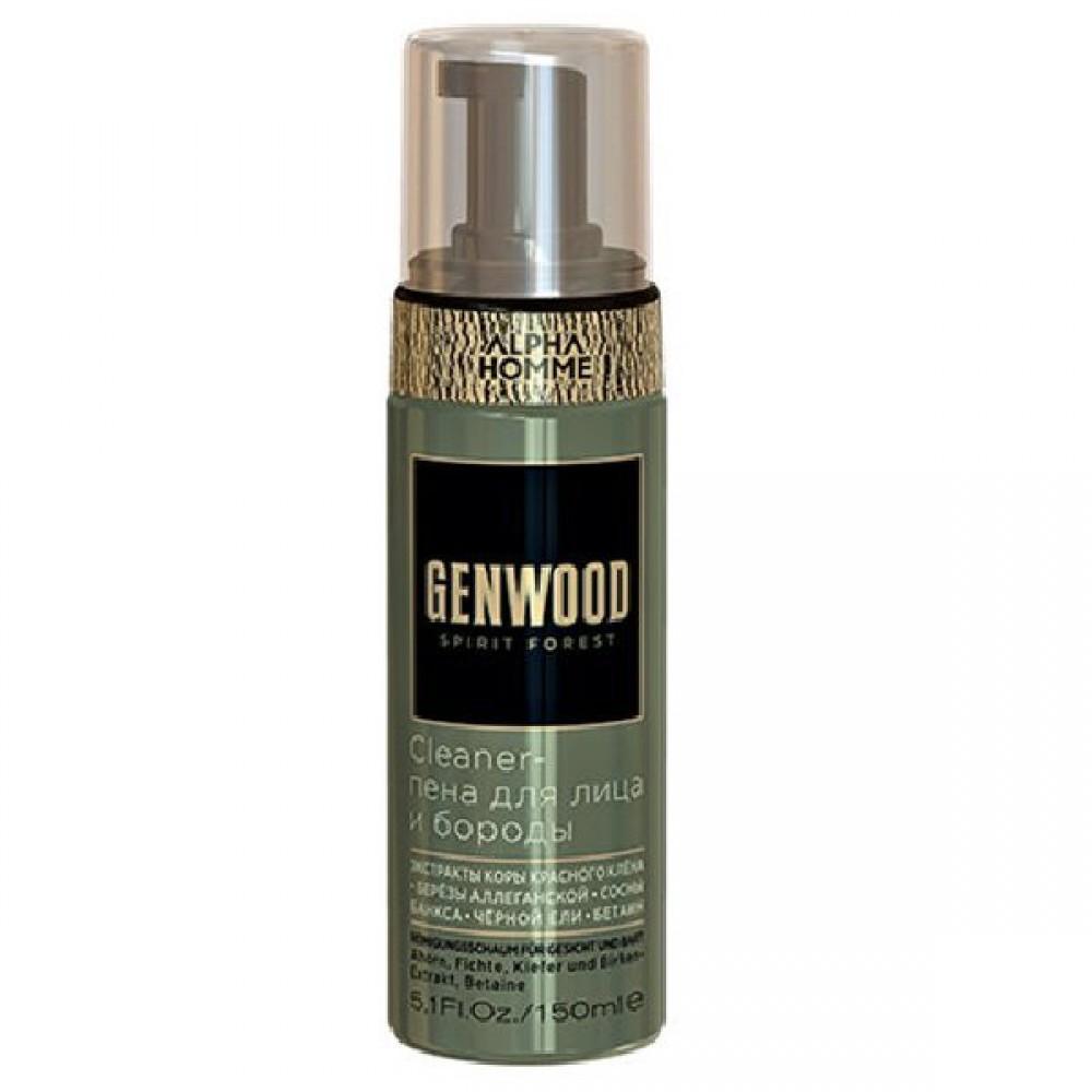 Cleaner-пена для лица и бороды Genwood Estel