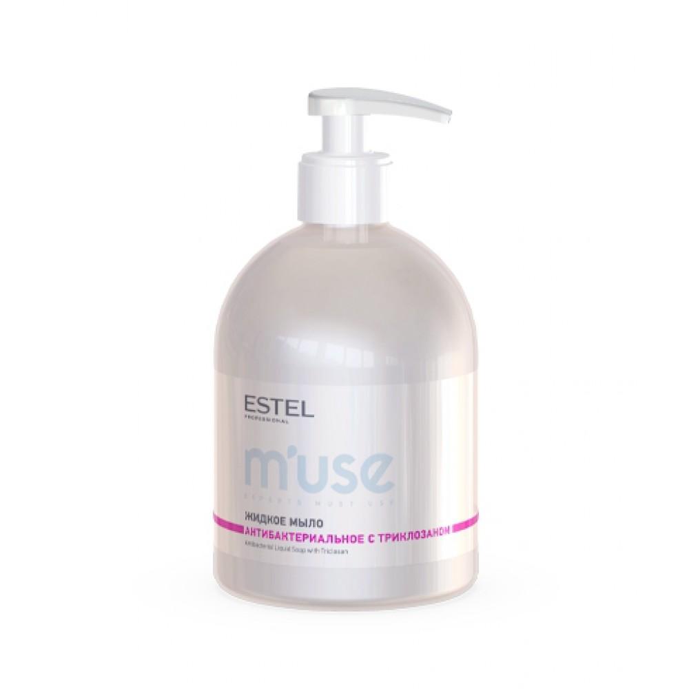 Жидкое мыло для рук антибактериальное M'use Estel