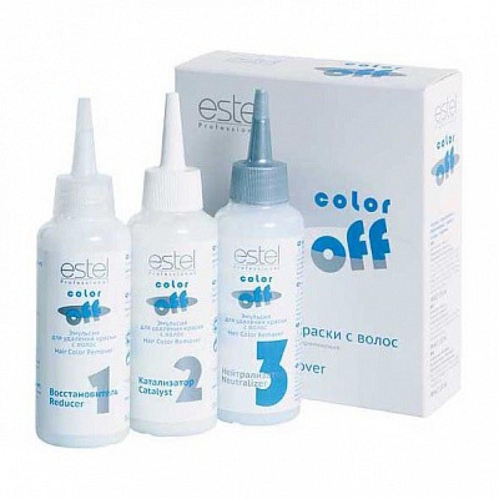 Эмульсия для удаления краски с волос Color Off Estel