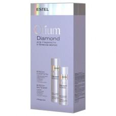 Набор для гладкости и блеска волос Otium Diamond Estel